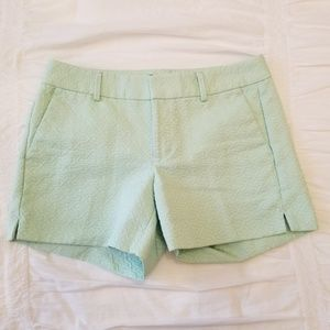 Banana Republic Light Green Shorts